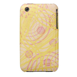 Colorful Swirls iPhone 3 Case-Mate Cases