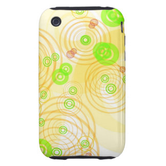 Colorful Swirls iPhone 3 Tough Cases