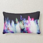 Colorful Swirls Pillow