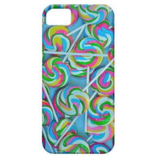 Colorful swirly lollipops iPhone 5 cases