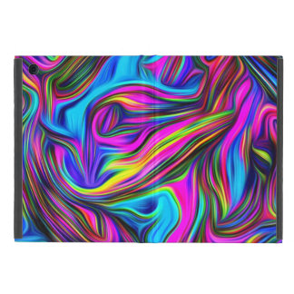 Colorful Swirly Pattern Case For iPad Mini