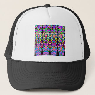 Colorful Symmetrical Abstract Trucker Hat