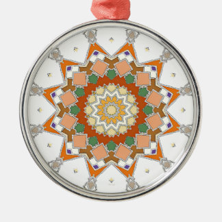 Colorful Symmetrical Star Metal Ornament