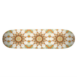 Colorful Symmetrical Star Skateboard Deck