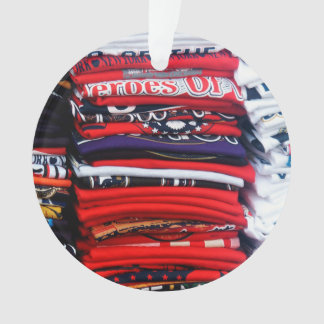 Colorful T-Shirt Stacks