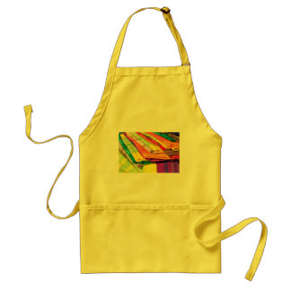 colorful tablecloth picture aprons