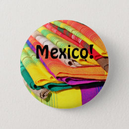 colorful tablecloth picture pinback button