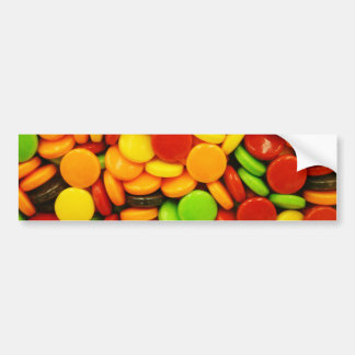 Colorful tablet candies bumper sticker