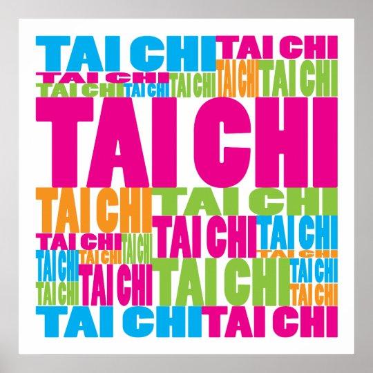 Colorful Tai Chi Poster