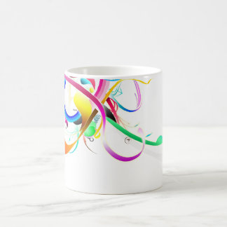 Colorful tape customized mug cup for sale
