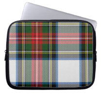 Colorful Tartan Plaid Laptop Cover