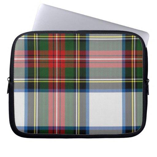 Colorful Tartan Plaid Laptop Cover Laptop Sleeve