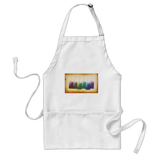 Colorful Teabags Adult Apron