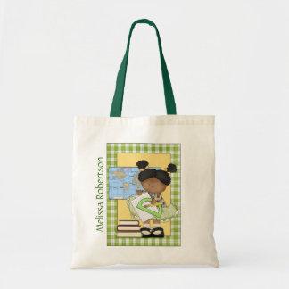 Colorful Teacher's Custom Tote Bag