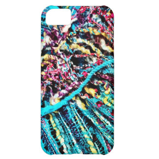 Colorful Teal Turquoise Pink Yarn Threads Craft iPhone 5C Cover