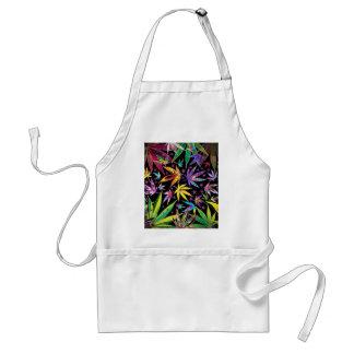 Colorful teenage adult apron