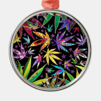 Colorful teenage metal ornament