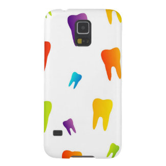 Colorful teeth galaxy s5 cover