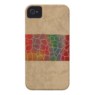 Colorful Tennessee County Art iPhone 4 Case-Mate Cases