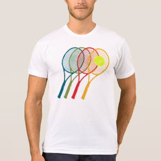 colorful tennis rackets T-Shirt
