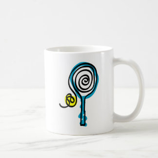 Colorful Tennis Spiral Rope Coffee Mug