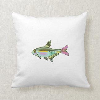 Colorful Tetra Fish Pillows