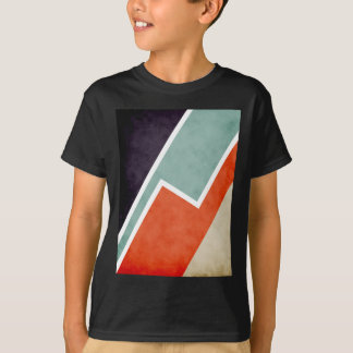 Colorful Textural Abstract Graphic T-Shirt