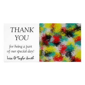 Colorful texture card