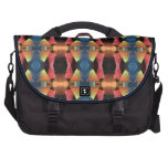 Colorful Textured Abstract Bag For Laptop