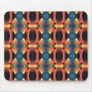 Colorful Textured Abstract Mouse Pads