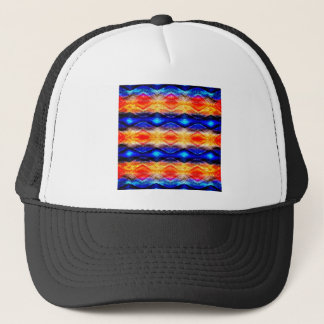 Colorful Textured Abstract Trucker Hat