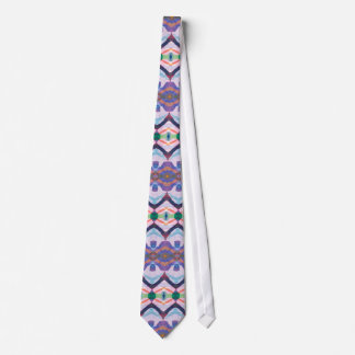 Colorful Textured Pattern 1 Tie