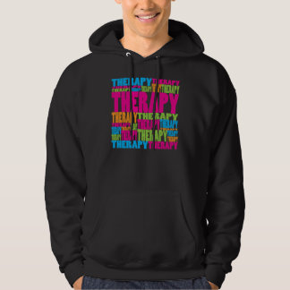 Colorful Therapy Hoodie