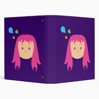 Colorful Thoughts Binder
