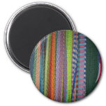 Colorful Threads Rainbow Magnets