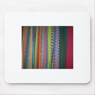 Colorful Threads Rainbow Mouse Pad