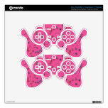 Colorful Three-Dimensional Confetti Decal For PS3 Controller