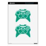 Colorful Three-Dimensional Confetti Xbox 360 Controller Skin