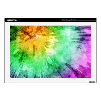 Colorful Tie Dye Design Laptop Skin