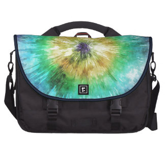 Colorful Tie Dye Graphic Bag For Laptop