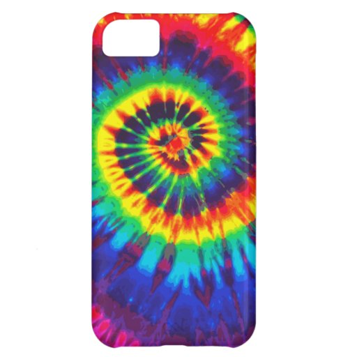 Colorful Tie-Dye iPhone 5 Casemate iPhone 5C Cases