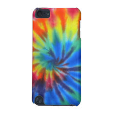 Colorful Tie-dye Ipod Touch Ipod Touch (5th Generation) Cover at Zazzle