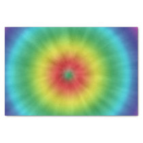 Colorful Tie Dye Pattern Tissue Paper