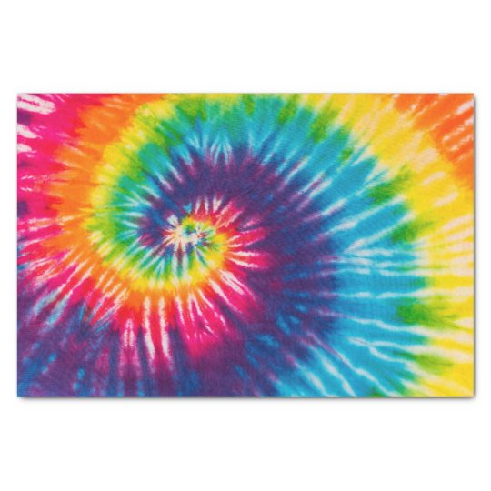 colorful tie dye pattern tissue paper zazzle. Black Bedroom Furniture Sets. Home Design Ideas