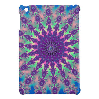 Colorful Tie-Dye Star fractal Design iPad Mini Cases