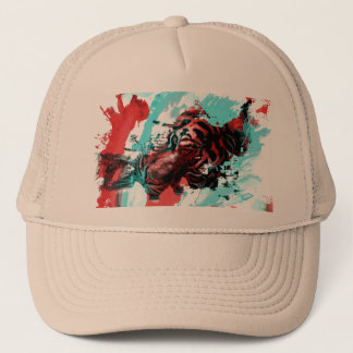 Colorful Tiger Animal Trucker Hat