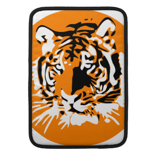 Colorful Tiger face Sleeve For MacBook Air
