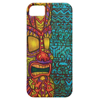 Colorful Tiki Phonecase iPhone 5 Cases