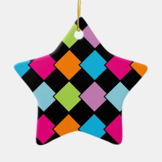 Colorful tile background ceramic ornament