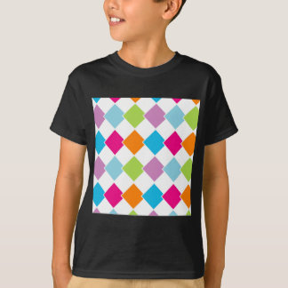 Colorful tile background T-Shirt